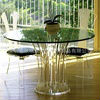 Modern and fashion acrylic furniture(table/chair) for 2013