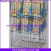 KingKara KAMWC061 Wire Mesh Container Stackable Trolley