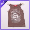 2013 Europe style girl's clothing tank top