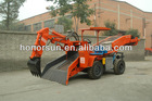 LWT-80 intensive 2WD wheel Muck loader with cheap price/good quality