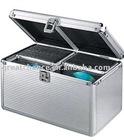 Aluminum 200 CD DVD R Media Storage Case Holder for DJ