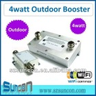 2.4G 802.11b/g 4Watt Outdoor Wireless Booster