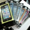 10pcs / lot Aluminum Alloy Metal Jacket Hard Bumper Case for Apple iPhone 4 4G DZ-154