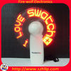 customized promotion items,flashing message fan Manufacturer & Supplier