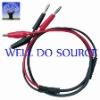 Plug-nip test wire