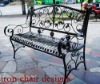 2012 new wrought iron indoor or outdoor chairs