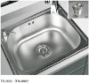 stainless steel sinks of kitchen