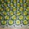 African Hand cut voile lace in fashion