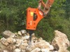 Hydraulic breaker from CZDM China model DH35T 165mm chisel