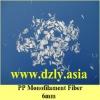 pp monofilament concrete fiber