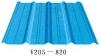 corrugated steel tile