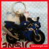 Eco-friend silicon mini motorbike keychains
