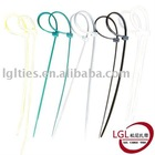 LGL self-locking PA66 nylon plastic bandage cable tie 3.6*300 mm 11.5/8 inch