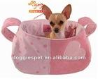 Foldable open top portable pet carrier