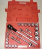 22pc socket wrench set,,3/4''Drive socket wrench set