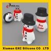 2012 PVC chirstmas snowman usb flash drive