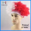 2012 Poland football fan hat for London Olympic Games