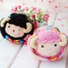 cute plush coin bag / plush pocket