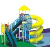 Amusement park/water playground slide
