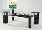 2012 best selling french glass coffee table