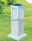 battery powed lawn solar lamp