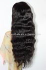 "Natural wavy affordable wigs Indian remy hair 12""-20"" 1#/1b# cheap wavy lace wigs"