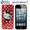 Hello kitty phone covers for apple iphone 5 accessories / mobile phone cover