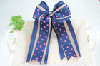 10 inches cheerleading bows for uniform