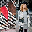 100% acrylic twill chain printed fashion scarf shawl