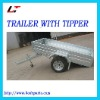 TIPPING GALVANIZED TRAILER(LT-106)