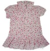 Cotton voile dress with printing