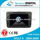 Sharing Digital High Tech Car Radio DVD Player GPS Navigation for VW GOLF 5 2005-2009