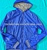 Thin jacket with hoodies 2012