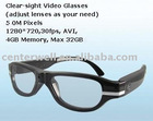 Clear-sight Video Glasses