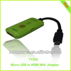 usb hdtv adapter for samsung galaxy note,MHL to HDMI Adapter for Mobile Phone/LG Nitro HD / -LG Optimus LTE / - ZTE Era