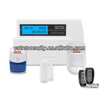 Wireless Burglar Alarm System, Simple to Operate, with MCU Control and SMD Technology