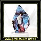 sublimation crystal--iceberge shape