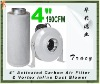 "4"" Activated Carbon Air Filter & Vortex Inline Duct Blower"