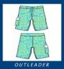 Men's printing cargo shorts
