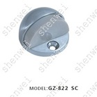 GZ-822 SC zinc alloy&rubber door stopper, door holder, floor knob, ballcatch, door hardware