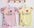 """I love BABY"" series ,Baby Romper, Infant pajamas ,Baby bodysuits jumpers toddler Baby bodysuit"