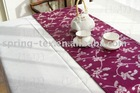 100% polyester printed tablerunner