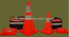 Flashing Traffic Cones