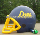 new arrivals advertisement/promotional inflatable outdoor football sport helmet for sale