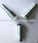 HYDRAULIC FLANGE FITTING 87611 WITH WHITE GALVANIZATION