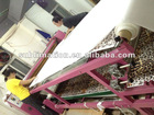 Roll and sheets fabric heat transfer machine