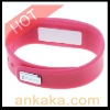 Pink Bluetooth Bracelet for Mobile Phones - Incoming Phone Call Vibrating Alert Device
