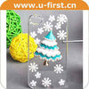 Chirstmas phone case for iphone 4,for iphone 4 PC case,promotional unique mobile phone case
