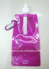 portable water bottle with carabiner