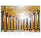 12pcs/set ratchet spanner